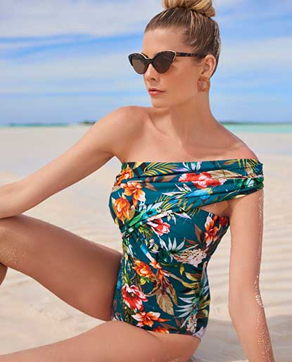 88b02b0359 Slimming Swimsuits and Plus Size Swimwear | Shop Tankinis, One Piece ...