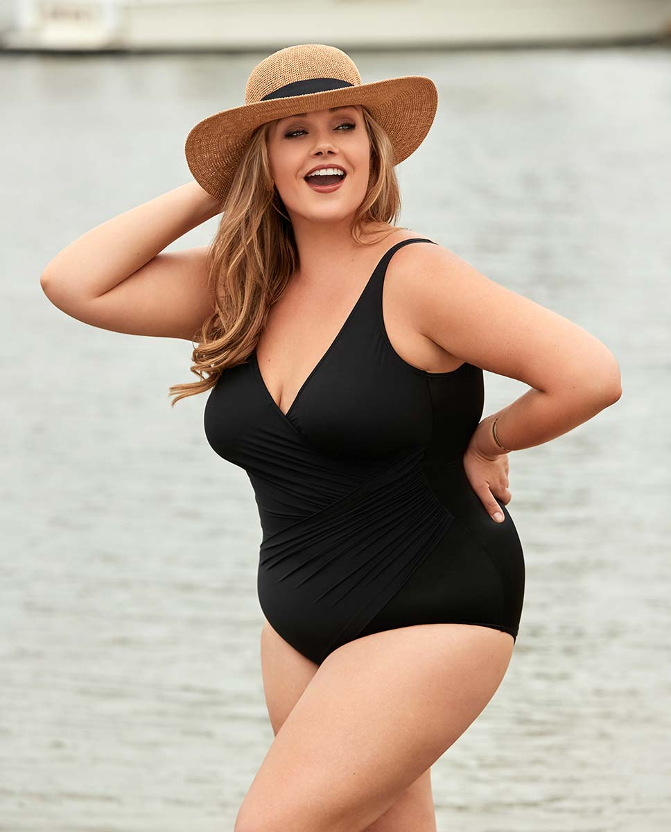 f0602ce482d Slimming Swimsuits and Plus Size Swimwear | Shop Tankinis, One Piece ...