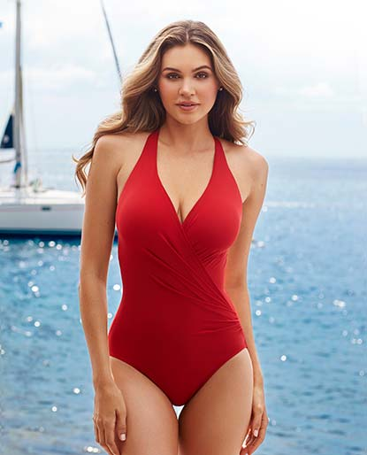 04c4be9c2732 Slimming Swimsuits and Plus Size Swimwear | Shop Tankinis, One Piece ...